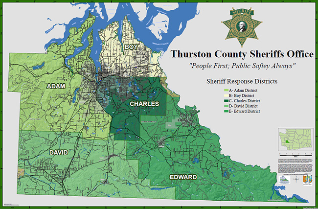 Thurston GeoData Center - Printable Map Details